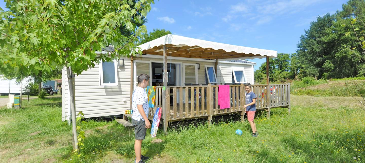 camping landes locations de mobil homes au camping